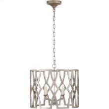 Visual Comfort NW5110VS Niermann Weeks Brittany 4 Light 20 inch Venetian Silver Foyer Lantern Ceiling Light, Niermann Weeks, Small