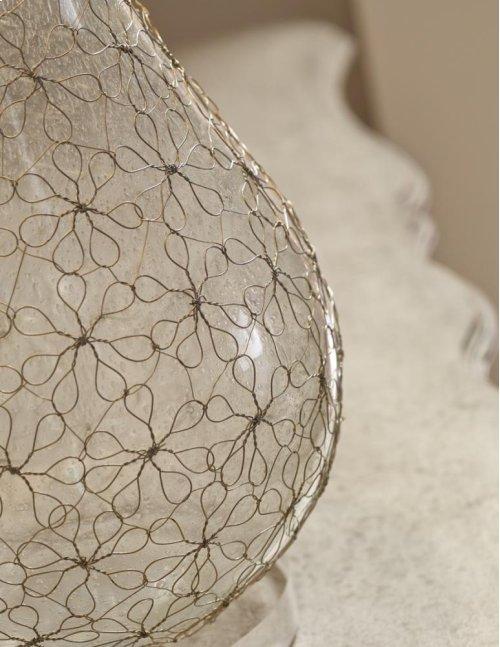 Daisy Lamp - Gold