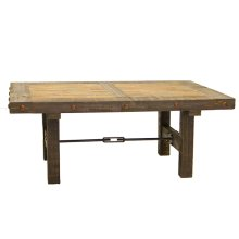 Las Piedras Coffee Table W/Painted Wood