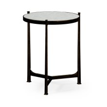 glomise & Bronze Medium Iron Lamp Table