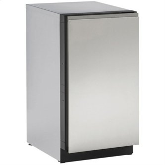 "Stainless Handleless Panel 18"" Solid - Stainless Steel"