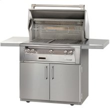 """36"""" Standard Grill on Cart"""