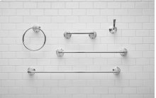 Delancey 18-inch Towel Bar  American Standard - Polished Chrome