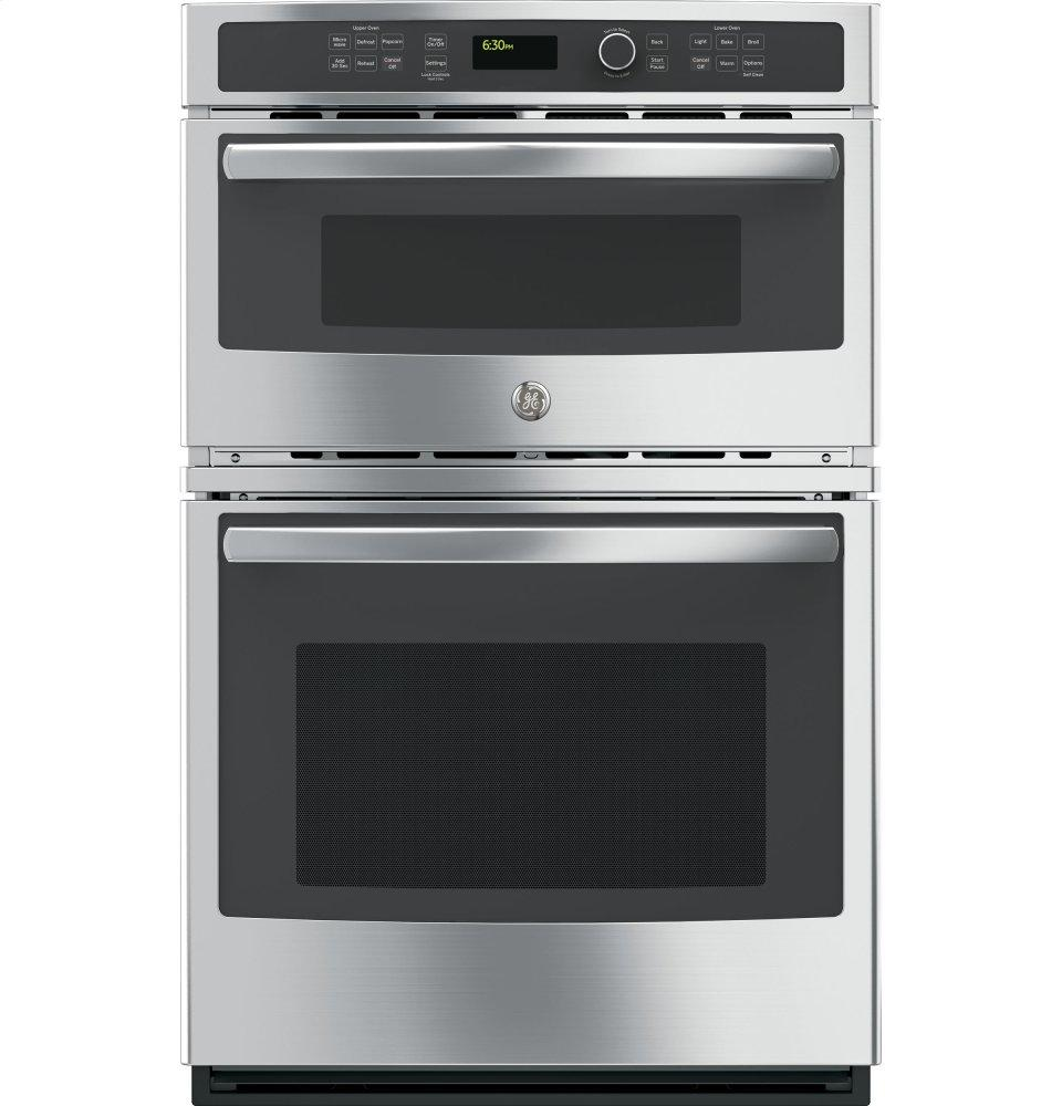 "GE(R) 27"" Built-In Combination Microwave/Thermal Wall Oven