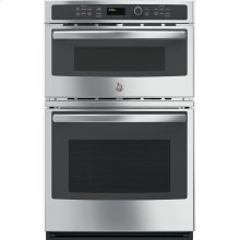 """OPEN BOX GE® 27"""" Built-In Combination Microwave/Thermal Wall Oven"""