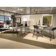 Nature's Edge Desk W/ Drawer-brushed Grey