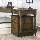 Cordero - Mobile File Cabinet - Aged Oak Finish Product Image
