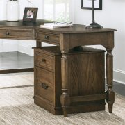 Cordero - Mobile File Cabinet - Aged Oak Finish Product Image