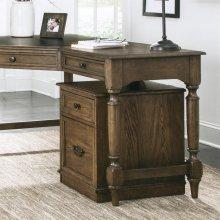 Cordero - Mobile File Cabinet - Aged Oak Finish