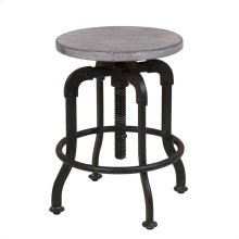 Prospect Hill Metal and Wood Stool