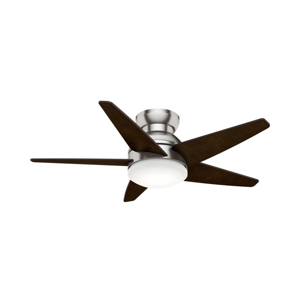 Isotope Low Profile with LED Light 44 inch Ceiling Fan