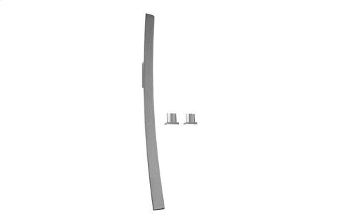 Luna Wall-Mounted Tub Filler w/Deck-Mounted Handles