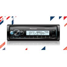 Digital Marine Receiver with enhanced Audio Functions, Pioneer Smart Sync App Compatibility, MIXTRAX®, Built-in Bluetooth®, and SiriusXM-Ready