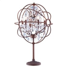 1130 Geneva Collection Table Lamp Rustic Intent Finish