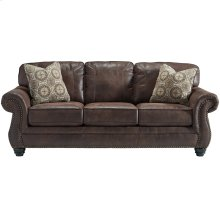 Benchcraft Breville Sofa in Espresso Faux Leather [FBC-8009SO-ESP-GG]