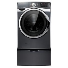 4.5 cu. ft. VRT, Steam and PowerFoam Front Load Washer (Onyx)