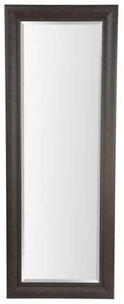 25X65 Dark Bronze with Black Framed Mirror Product Image