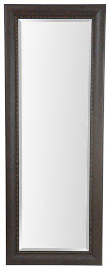 25X65 Dark Bronze with Black Framed Mirror