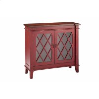 Goshen 2-door Cabinet In Red Product Image