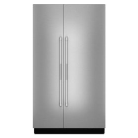 """JennAir® Pro-Style® 48"""" Fully Integrated Built-In Side-by-Side Panel-Kit - Stainless Steel"""