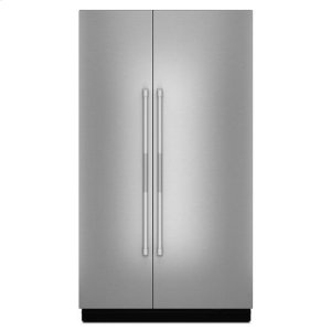 "JennairJenn-Air® Pro-Style® 48"" Fully Integrated Built-In Side-by-Side Panel-Kit - Stainless Steel"