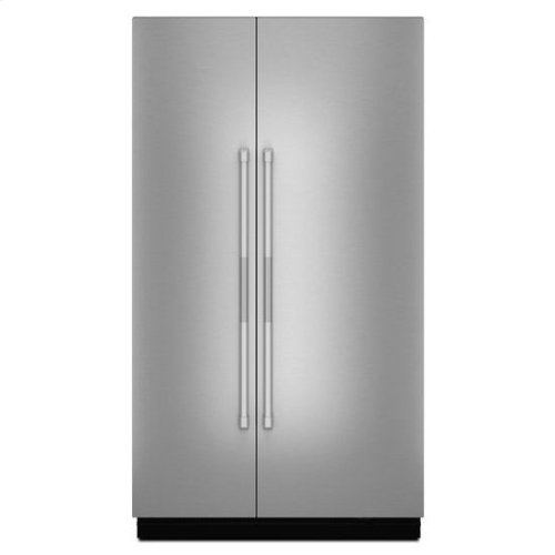 """Jenn-Air® Pro-Style® 48"""" Fully Integrated Built-In Side-by-Side Panel-Kit - Stainless Steel"""