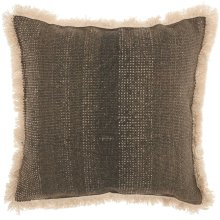 """Life Styles As301 Charcoal 18"""" X 18"""" Throw Pillows"""