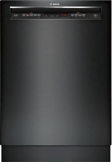 "300 Series 24"" Recessed Handle Dishwasher 300 Series- Black SHE863WF6N"