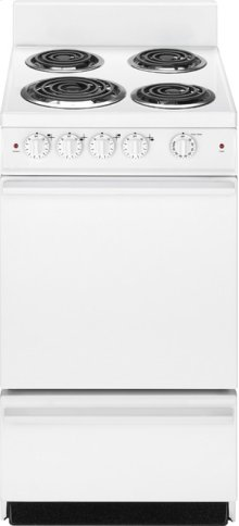 Crosley Electric Ranges (2.3 cu. ft. Standard Clean Oven)