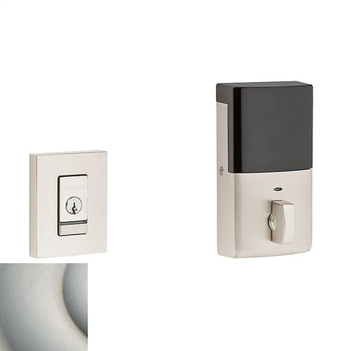 Satin Nickel with Lifetime Finish Evolved Contemporary Deadbolt