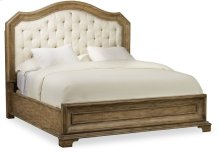 Solana California King Upholstered Panel Bed