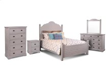 Sunset Trading Coastal Charm 5 Piece Queen Bedroom Set - Sunset Trading