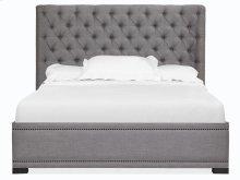Complete Queen Island Upholstered Bed