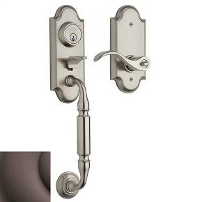 Venetian Bronze Ashton Two-Point Lock Handleset