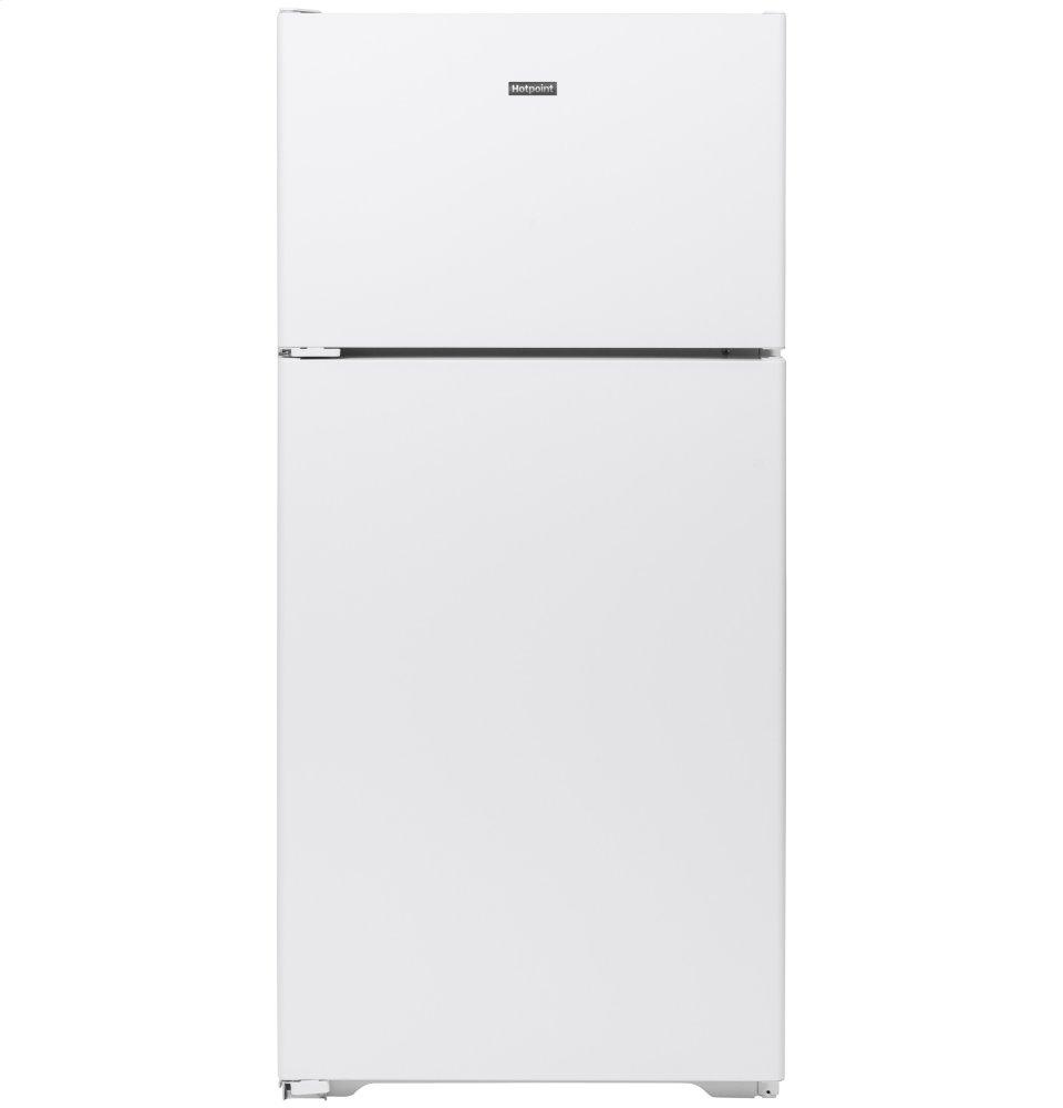 HotpointHotpoint® 15.6 Cu. Ft. Recessed Handle Top-Freezer Refrigerator