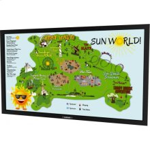"""55"""" Marquee Series Outdoor Digital Signage Full Sun Ultra Bright Landscape Orientation DS-5525L"""