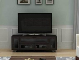 """Walnut AV Stand For TVs up to 70"""" and 100 lbs / 45 kg"""