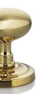 Ornate Round Turnpiece in MB (MaxBrass® PVD Plated) Product Image