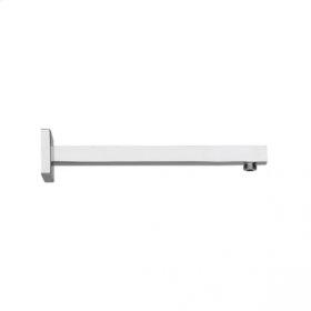 Square Shower Arm - Brushed Nickel