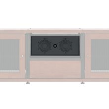 Center Channel Speaker for Synergy Cabinets, Single-Width