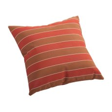 Joey Small Outdoor Pillow Brown And Clay Wide Stripe Product Image