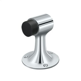 Floor Mount, Bumper, HD, Solid Brass - Polished Chrome