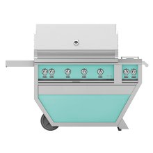 """42"""" Hestan Outdoor Deluxe Grill with Double Side Burner - G_BR__CX_ Series - Bora-bora"""