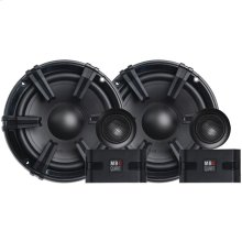 "Discus Series 6.5"" 90-Watt Component Speaker System with 1"" Tweeters"