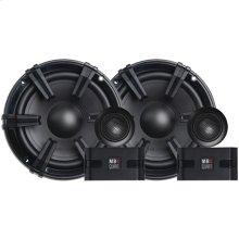 "Discus Series 6.5"" 90-Watt Component Speaker System with 1"" Tweeters"