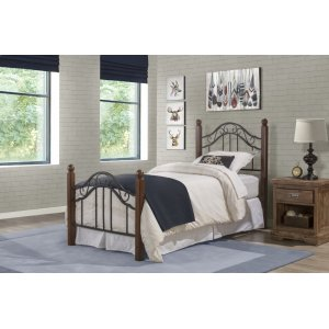 Hillsdale FurnitureMadison Twin Bed Set With Rails