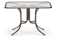 """32"""" x 56"""" Rectangular Counter Height Table w/ hole Ogee Rim"""