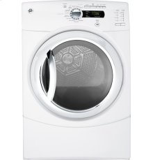GE® 7.5 cu. ft. stainless steel capacity frontload dryer with Steam