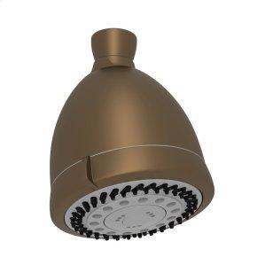 "English Bronze 3 1/2"" Perrin & Rowe Multi-Function Showerhead"