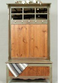 """#303 New England Hall Storage Bench 40.5""""wx18""""dx70"""